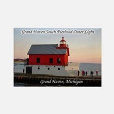 Grand Haven South Pierhead Outer Light Magnets
