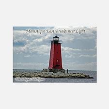 Manistique East Breakwater Light Magnets