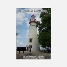 Marblehead Lighthouse Tall Magnets