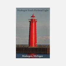 Muskegon South Pierhead Light Magnets