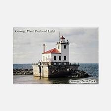 Oswego West Pierhead Light Magnets