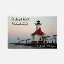 St Joseph North Pierhead Lights From Water Magnets