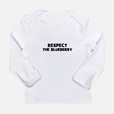 respect the blueberry Long Sleeve T-Shirt