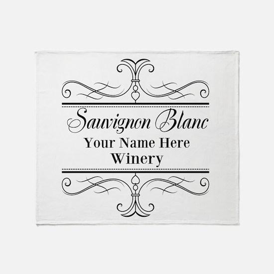 Sauvignon Blanc Throw Blanket