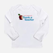 Thank a Teacher Long Sleeve T-Shirt