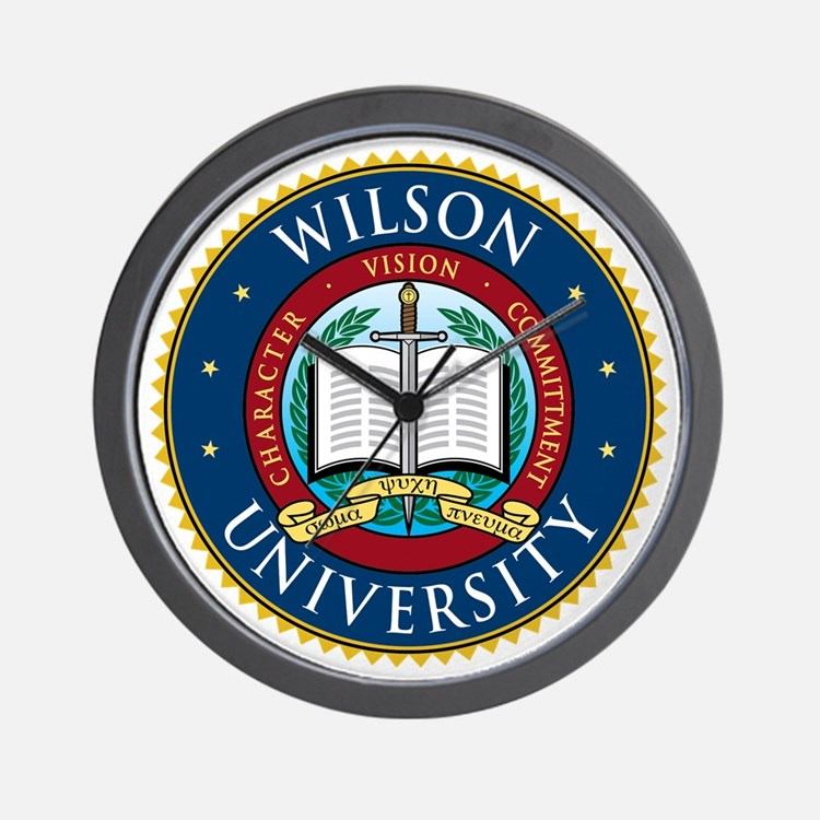 Wilson University Wall Clock