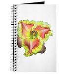 Pink w/ Ruffles Daylily Journal