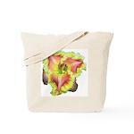 Pink w/ Ruffles Daylily Tote Bag