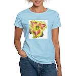 Pink w/ Ruffles Daylily Women's Light T-Shirt
