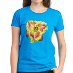 Pink w/ Ruffles Daylily Women's Dark T-Shirt