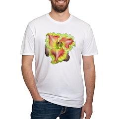 Pink w/ Ruffles Daylily Shirt