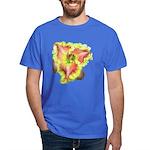 Pink w/ Ruffles Daylily Dark T-Shirt