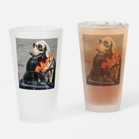 Easy Rider Drinking Glass
