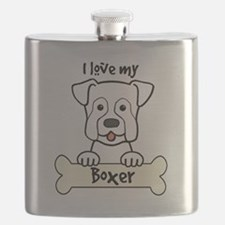 I love dogs Flask