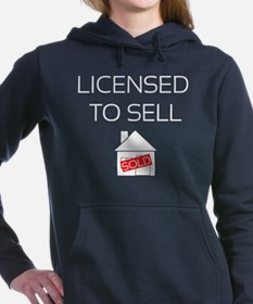 Funny Construction and real estate profession Women's Hooded Sweatshirt