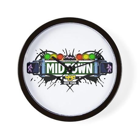 Midtown (White) Wall Clock