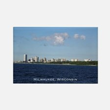 Milwaukee, Wisconsin Skyline Magnets