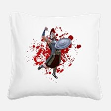 Cute Paladin Square Canvas Pillow