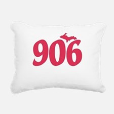 906 Yooper UP Upper Peni Rectangular Canvas Pillow