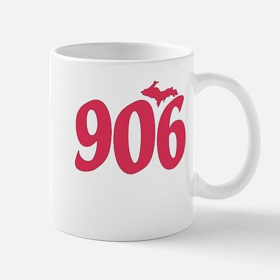 906 Yooper UP Upper Peninsula - Pink - Mug