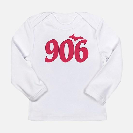 906 Yooper UP Upper Pen Long Sleeve Infant T-Shirt