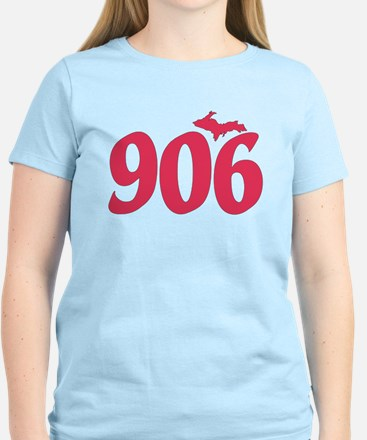 906 Yooper UP Upper Peninsul Women's Light T-Shirt