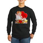 Come Clean Long Sleeve Dark T-Shirt