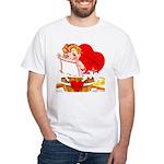 Come Clean White T-Shirt
