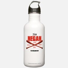Team Negan Walking Dea Sports Water Bottle