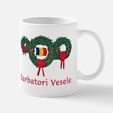 Romania Christmas 2 Mugs