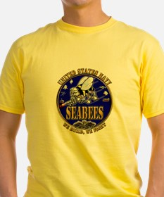 USN Navy Seabees We Build We Fight.png T-Shirt