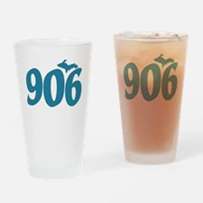 906 Yooper Blue Drinking Glass