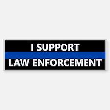 I Support Law Enforcement Bumper Bumper Stickers