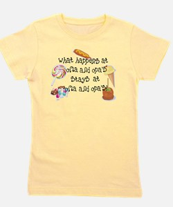 Funny Stays Girl's Tee