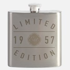Unique 60th birthday Flask