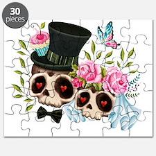 Unique Day of the dead skeleton Puzzle
