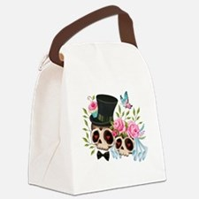 Cool Dia de los muertos Canvas Lunch Bag