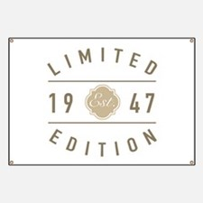 1947 Limited Edition Banner