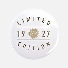 Funny 90th birthday men Button