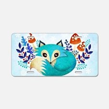 Cute Blue berry Aluminum License Plate