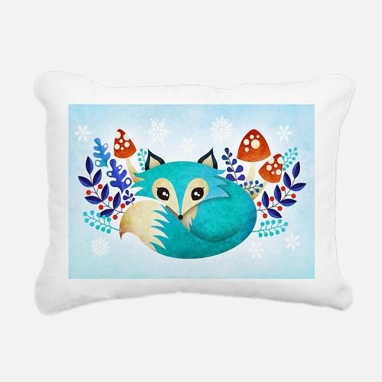 Cute fox Rectangular Canvas Pillow