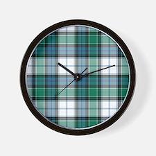Tartan - Graham dress Wall Clock