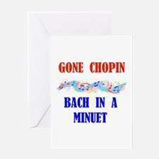 MUSIC GREATS Greeting Cards