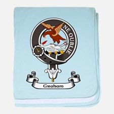 Badge - Graham baby blanket