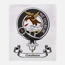 Badge - Graham Throw Blanket