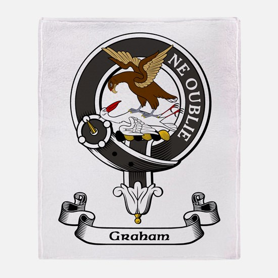 Badge - Graham Throw Blanket