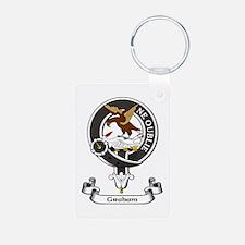 Badge - Graham Aluminum Photo Keychain