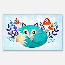 Winter Fox Decal