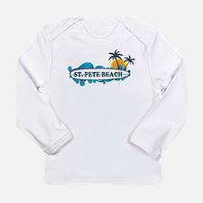 St. Pete Beach - Surf Design. Long Sleeve T-Shirt