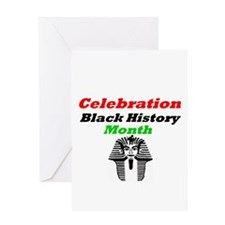 Celebration Black History Month Greeting Card